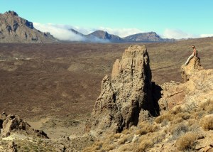 My friends and I hiked around the volcanic mountain of Santa Cruz de Tenerife, Canary Islands.  (www.semesteratsea.org)
