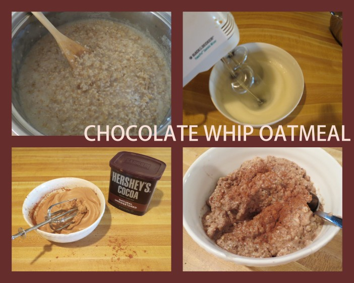 Chocolate Whip Oatmeal