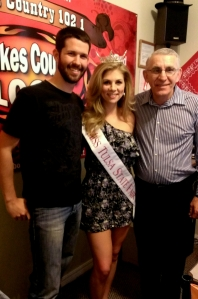 A big THANK YOU to Blake and Lou at Lakes Country 102.1 for helping me get the word out about our Living with Diabetes event.